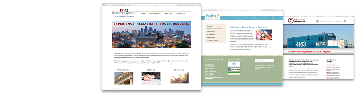 Websites, eNewsletters, & Online Ads
